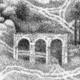 Untitled (imaginary landscape)(detail), graphite on paper, 2006, 8″ x 10″